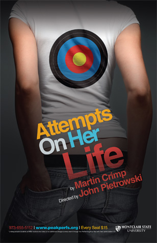 ATTEMPTS ON HER LIFE-THEATRE