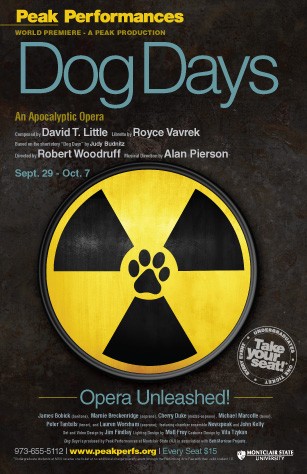 PEAK PERFORMANCES @ MONTCLAIR-Dog Days Poster