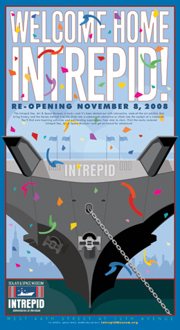 INTREPID MUSEUM-Poster